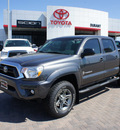 toyota tacoma 2012 gray prerunner v6 6 cylinders 5 speed automatic 76087