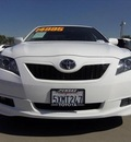 toyota camry 2007 white sedan gasoline 4 cylinders front wheel drive automatic 90241