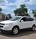chevrolet traverse 2012 white lt gasoline 6 cylinders front wheel drive 6 speed automatic 78550