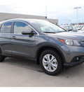 honda cr v 2012 dk  gray suv 4 cylinders 5 speed automatic 77025