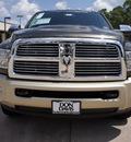 ram ram pickup 3500 2012 dk  gray laramie longhorn diesel 6 cylinders 4 wheel drive automatic 76011