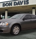dodge avenger 2013 dk  gray sedan se gasoline 4 cylinders front wheel drive automatic 76011