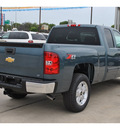 chevrolet silverado 1500 2013 blue lt flex fuel 8 cylinders 4 wheel drive automatic 78130