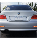 bmw 5 series 2008 silver sedan 528i 6 cylinders automatic 77074
