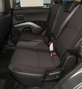 mitsubishi outlander 2013 lt  gray se gasoline 4 cylinders front wheel drive automatic 75062
