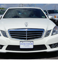 mercedes benz e class 2010 white sedan e350 luxury 6 cylinders automatic 77074