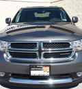 dodge durango 2012 dk  gray suv crew gasoline 6 cylinders rear wheel drive automatic 76011