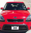 kia soul 2012 red hatchback gasoline 4 cylinders front wheel drive automatic 76011
