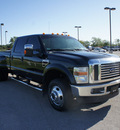 ford f 350 super duty 2008 black lariat diesel 8 cylinders 4 wheel drive automatic 75119