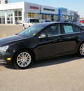 chevrolet cruze 2012 black sedan eco gasoline 4 cylinders front wheel drive 6 speed manual 56001