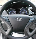 hyundai sonata 2011 gray sedan gasoline 4 cylinders front wheel drive automatic 43228