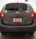 nissan rogue 2009 lt  gray suv s gasoline 4 cylinders all whee drive automatic 44060