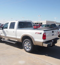 ford f 250 super duty 2012 white lariat 8 cylinders automatic 76108
