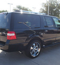 ford expedition el 2008 black suv limited gasoline 8 cylinders 2 wheel drive automatic with overdrive 76011