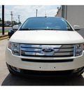 ford edge 2008 off white suv limited gasoline 6 cylinders all whee drive automatic 78757
