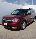 ford flex 2013 red sel gasoline 6 cylinders front wheel drive automatic 75235