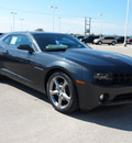 chevrolet camaro 2013 gray coupe lt gasoline 6 cylinders rear wheel drive automatic 78009