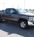 chevrolet silverado 1500 2013 brown pickup truck lt flex fuel v8 2 wheel drive automatic 78009