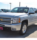 chevrolet silverado 1500 2013 silver ltz flex fuel 8 cylinders 4 wheel drive automatic 78130