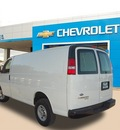 chevrolet express cargo 2013 white van 2500 flex fuel 8 cylinders rear wheel drive automatic 75067