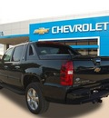 chevrolet black diamond avalanche 2013 dk  green suv lt flex fuel v8 2 wheel drive automatic 75067