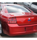 dodge charger 2007 red sedan 6 cylinders automatic 77018