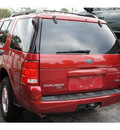 ford explorer 2005 red suv xlt 6 cylinders automatic 77018
