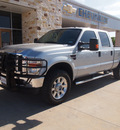 ford f 250 super duty 2009 gray lariat 8 cylinders automatic 77836