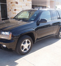 chevrolet trailblazer 2008 black suv lt1 6 cylinders automatic 77836