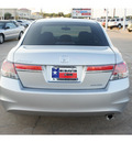 honda accord 2012 silver sedan se gasoline 4 cylinders front wheel drive automatic 77034