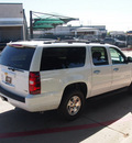 chevrolet suburban 2012 white suv ls 1500 8 cylinders automatic 76051