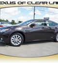 lexus es 300h 2013 dk  brown sedan hybrid 4 cylinders front wheel drive automatic 77546