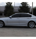 bmw 5 series 2011 gray sedan 550i gasoline 8 cylinders rear wheel drive automatic 77002