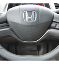 honda civic 2008 blue sedan lx gasoline 4 cylinders front wheel drive automatic 78233