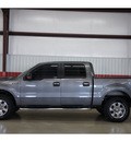 ford f 150 2009 gray xlt flex fuel 8 cylinders 4 wheel drive automatic 79110