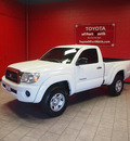 toyota tacoma 2006 white prerunner gasoline 4 cylinders rear wheel drive 5 speed manual 76116