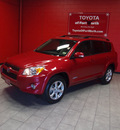 toyota rav4 2010 red suv limited gasoline 4 cylinders front wheel drive automatic 76116