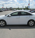 chevrolet cruze 2011 white sedan lt fleet gasoline 4 cylinders front wheel drive autostick 62863