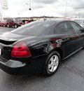 pontiac grand prix 2008 black sedan gasoline 6 cylinders front wheel drive automatic 60443