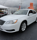 chrysler 200 2011 white sedan touring gasoline 4 cylinders front wheel drive automatic 60443