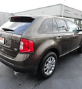 ford edge 2011 dark brown sel gasoline 6 cylinders all whee drive automatic 60443