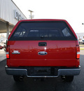 ford f 150 2005 red pickup truck xlt gasoline 8 cylinders 4 wheel drive automatic 27215