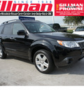 subaru forester 2009 black wagon 2 5x ltd gasoline 4 cylinders all whee drive shiftable automatic 77099