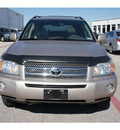 toyota highlander hybrid 2007 tan suv limited hybrid 6 cylinders all whee drive automatic 76543