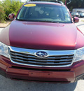 subaru forester 2010 red suv 2 5x limited gasoline 4 cylinders all whee drive automatic 34731