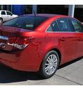 chevrolet cruze 2012 red sedan eco 4 cylinders 6 speed manual 78130