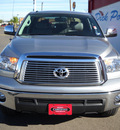 toyota tundra 2011 silver limited flex fuel 8 cylinders 4 wheel drive automatic 79925