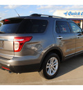 ford explorer 2012 gray suv xlt gasoline 6 cylinders 2 wheel drive automatic with overdrive 77539