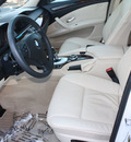 bmw 5 series 2008 white sedan 528i gasoline 6 cylinders rear wheel drive automatic 27616