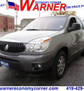 buick rendezvous 2004 gray suv cx gasoline 6 cylinders front wheel drive automatic 45840